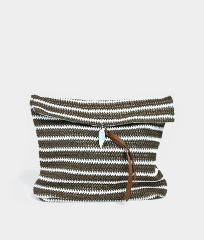 Knit Stripe Bag