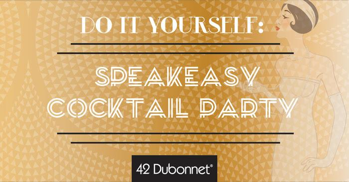 DIY: Speakeasy Cocktail Party
