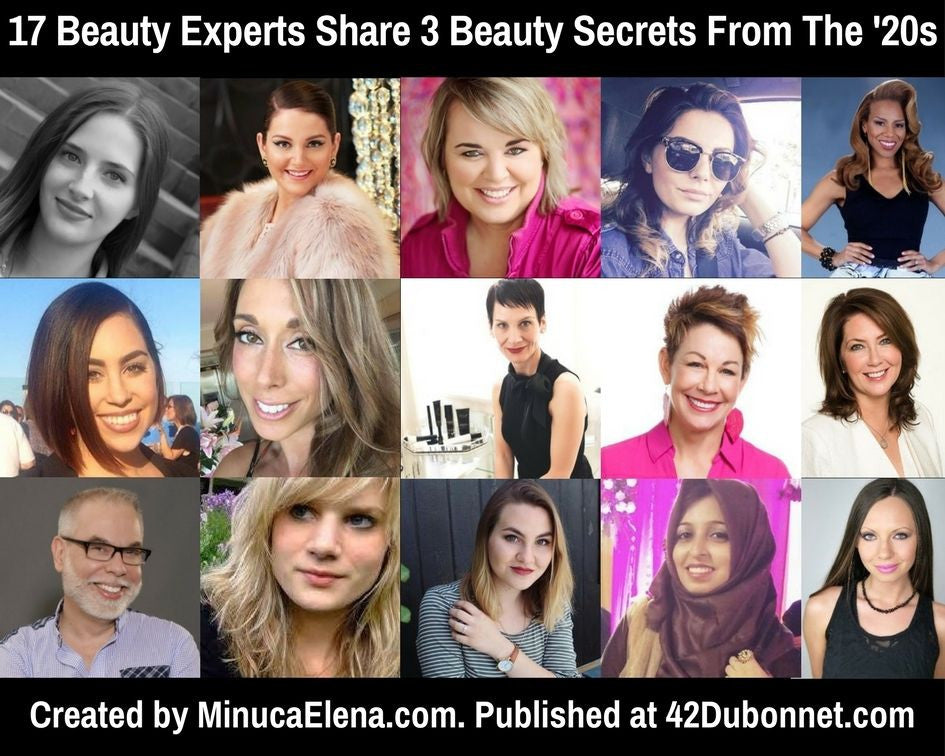 17 Beauty Experts Share 3 Beauty Secrets From The 1920s