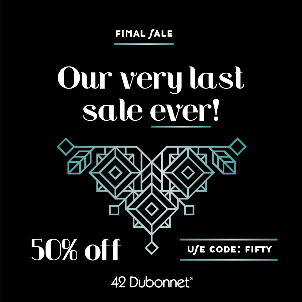 Saying Goodbye & Our Very LAST SALE, EVER!