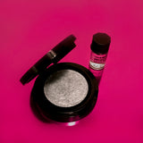 LTD ED Hotsy-Totsy Metallic Eyeshadow (w/activator) - Silver Twist