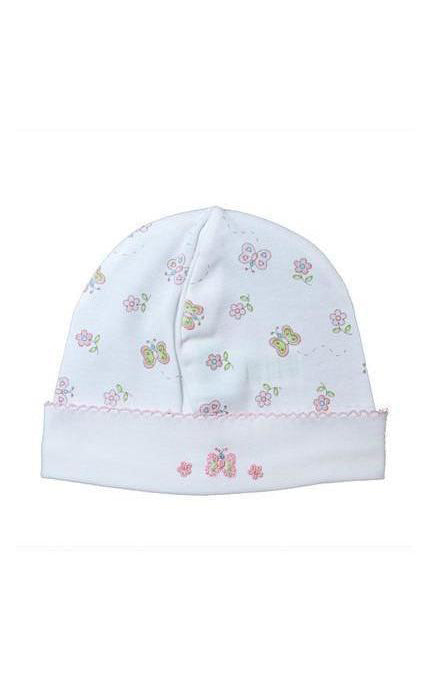 Butterfly Print Hat - Little Threads Inc. Children's Clothing