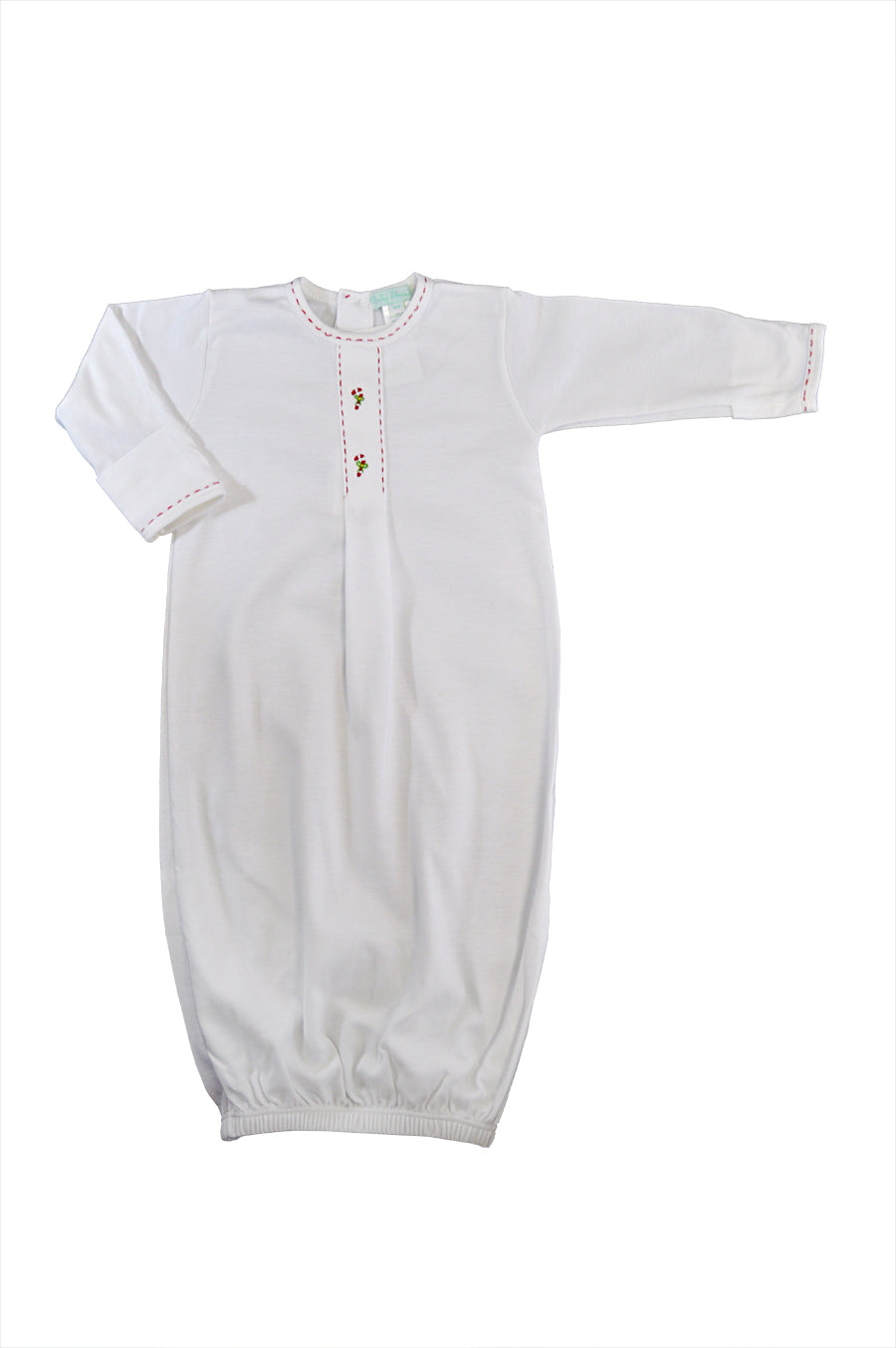 Baby Boy's Christmas Candy Cane Daygown - Little Threads Inc. Children's Clothing