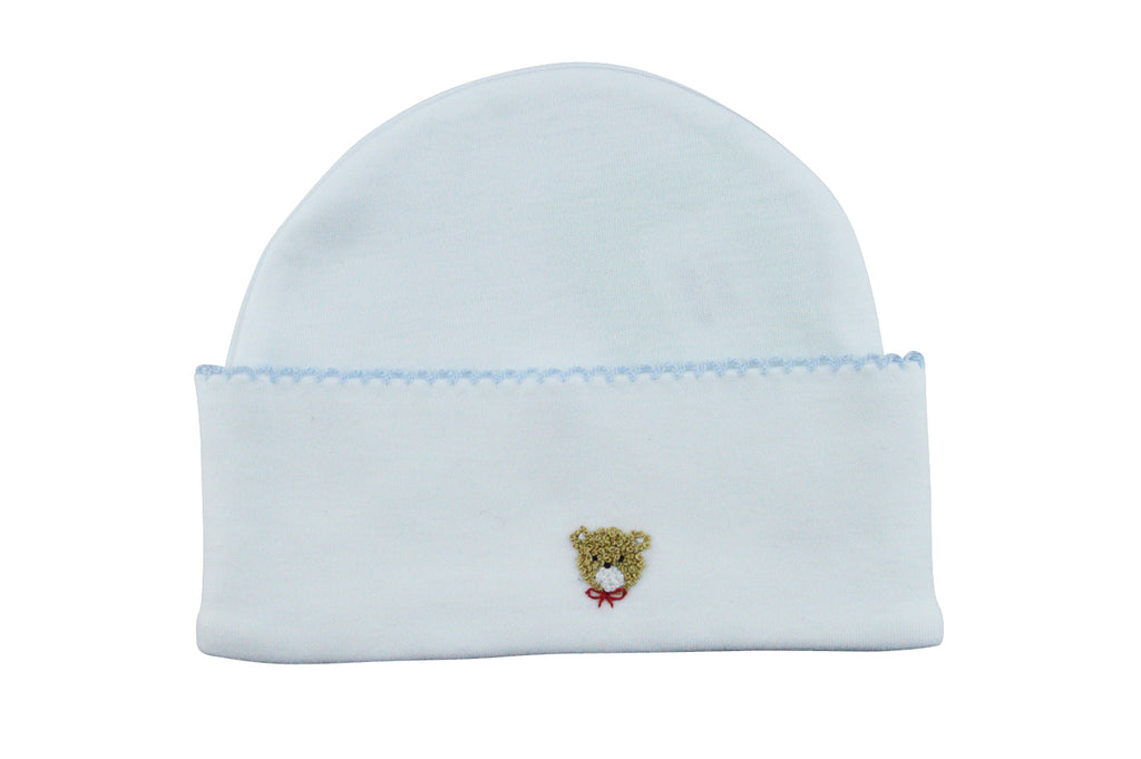 Baby Girl's Blue Bear hat - Little Threads Inc. Children's Clothing