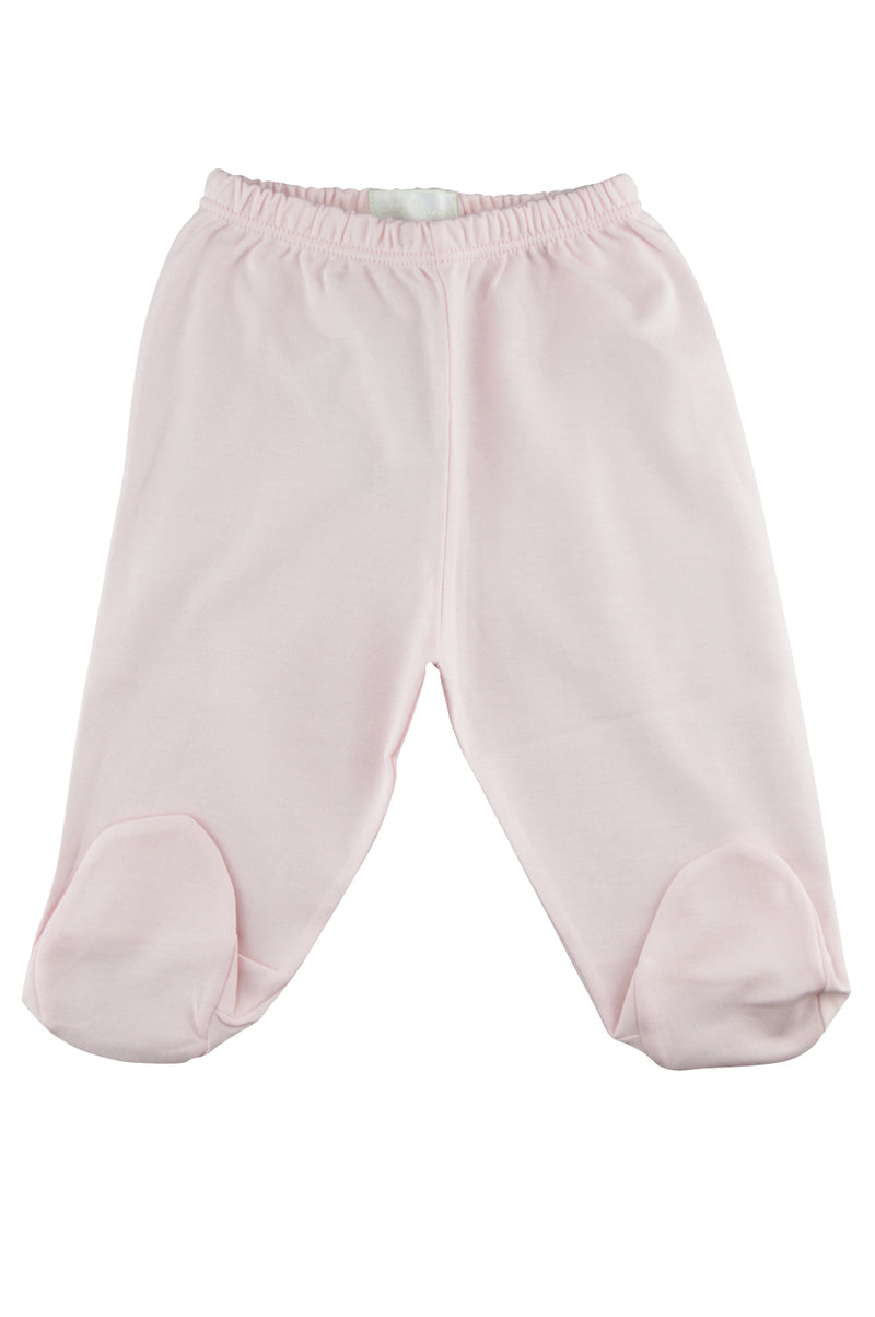 Baby Girl's Pink Footies Pants - Little Threads Inc. Children's Clothing