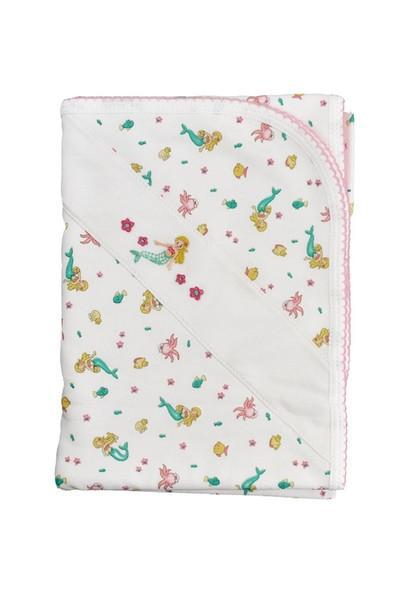 Mermaid & Octopus Print Blanket - Little Threads Inc. Children's Clothing