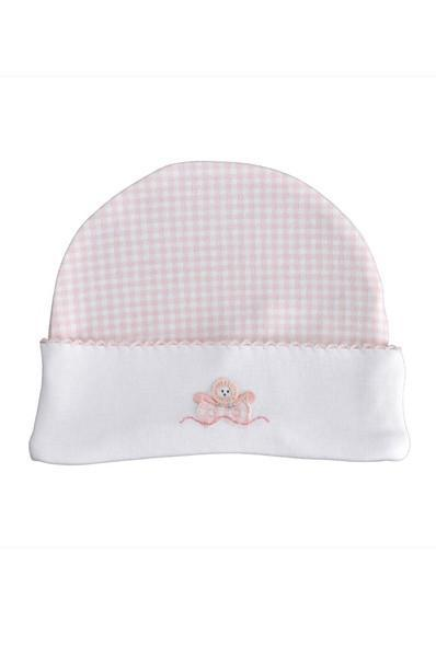 Pink Check Hat - Little Threads Inc. Children's Clothing
