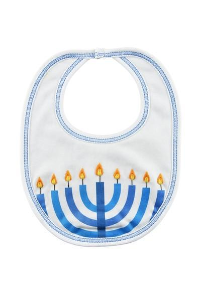 Hanukkah Pima Cotton Bib