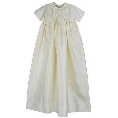 Boys Silk Christening Gown