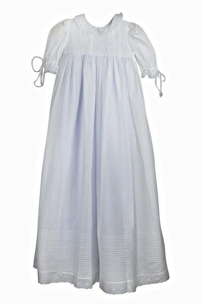 Swiss Batiste Christening Gown