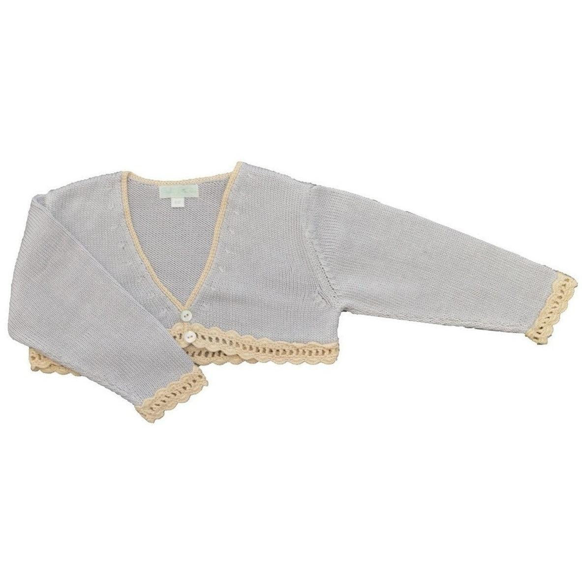 beautiful-mercerized-cotton-knitted-bolero-sweater