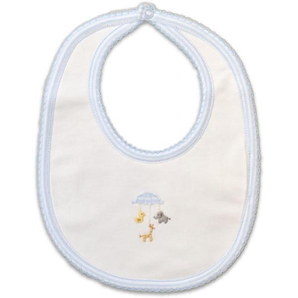 Animal Mobile  Pima Cotton Bib - Little Threads Inc. Children's Clothing