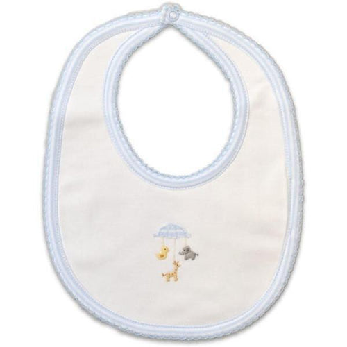 Animal Mobile  Pima Cotton Bib