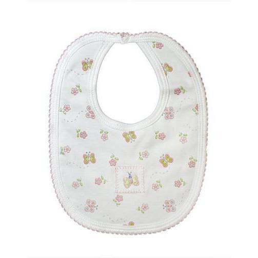 Butterfly Print Bib - Little Threads Inc. Children's Clothing