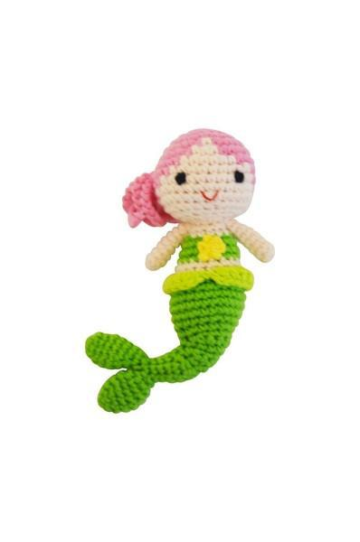 Mermaid Gift Set with Rattle - Little Threads Inc. Children's Clothing