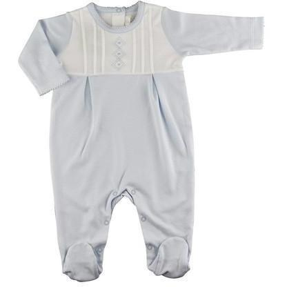 Argyle Pima Cotton Boy's Footie - Little Threads Inc. Children's Clothing