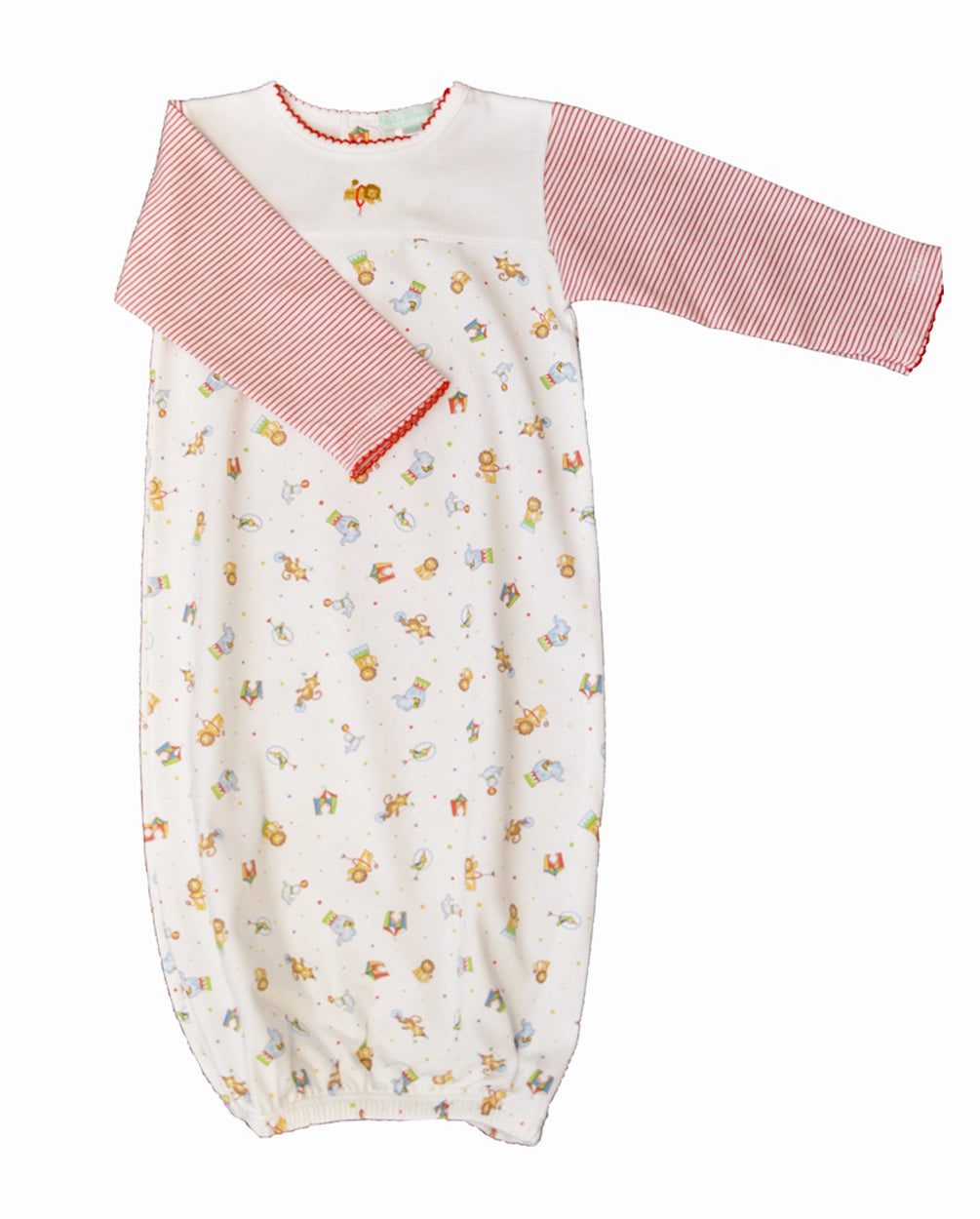 Circus baby boy day gown - Little Threads Inc. Children's Clothing