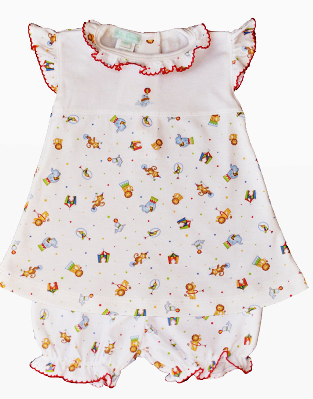 Baby Girl's Circus Print Dress - Little Threads Inc. Children's Clothing