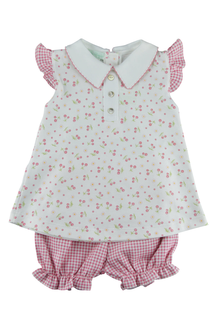 Baby Girl's Cherry Short Set - Little Threads Inc. Children's Clothing