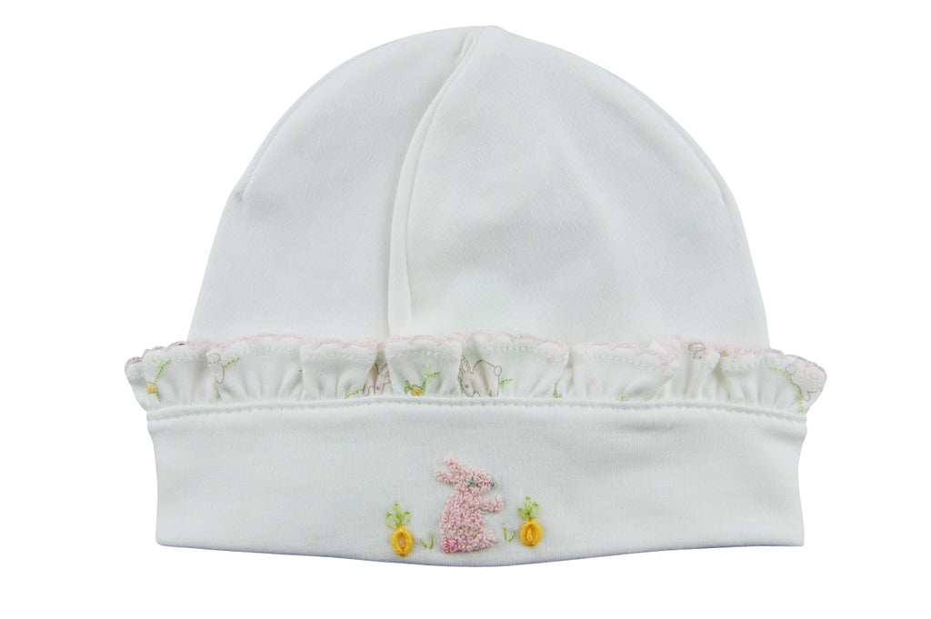 Baby Girl's Bunny and Carrots Hat - Little Threads Inc. Children's Clothing