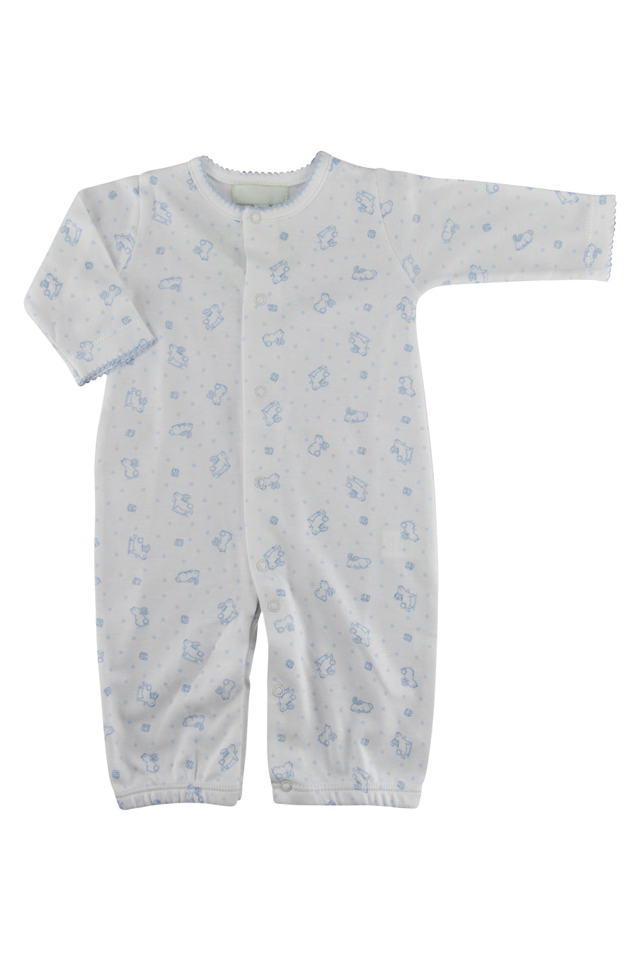 Baby Boy's Blue Bunny Converter - Little Threads Inc. Children's Clothing
