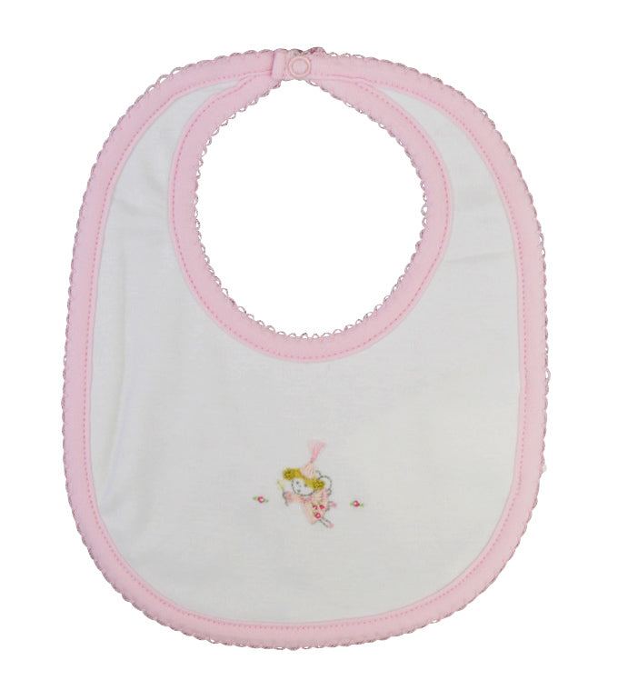 Sweet Fairy baby girl bib. - Little Threads Inc. Children's Clothing