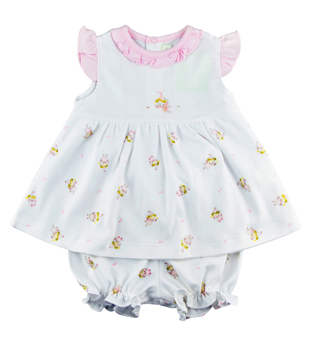 Sweet Fairy Baby Girl's Dress. - Little Threads Inc. Children's Clothing