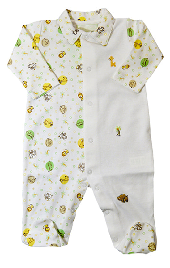 Jungle baby boy Gift set - Little Threads Inc. Children's Clothing