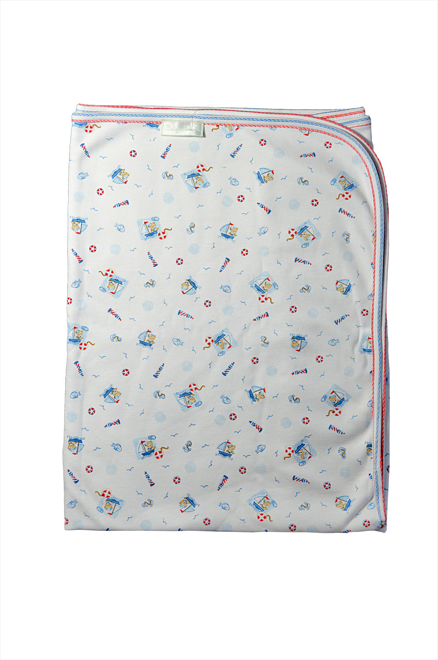 Baby Boy's Nautical Bear Blanket - Little Threads Inc. Children's Clothing