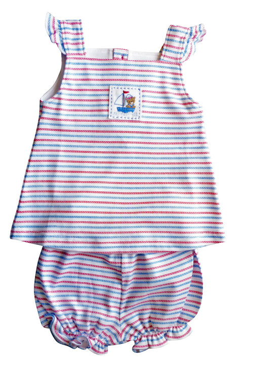 Baby Threads Nautical Bear Baby Dress