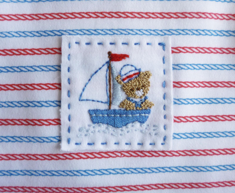 Baby Threads Nautical Bear Baby Dress - Little Threads Inc. Children's Clothing