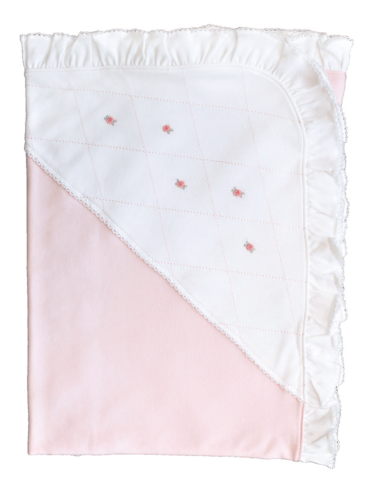 Diamond Pink Blanket - Little Threads Inc. Children's Clothing