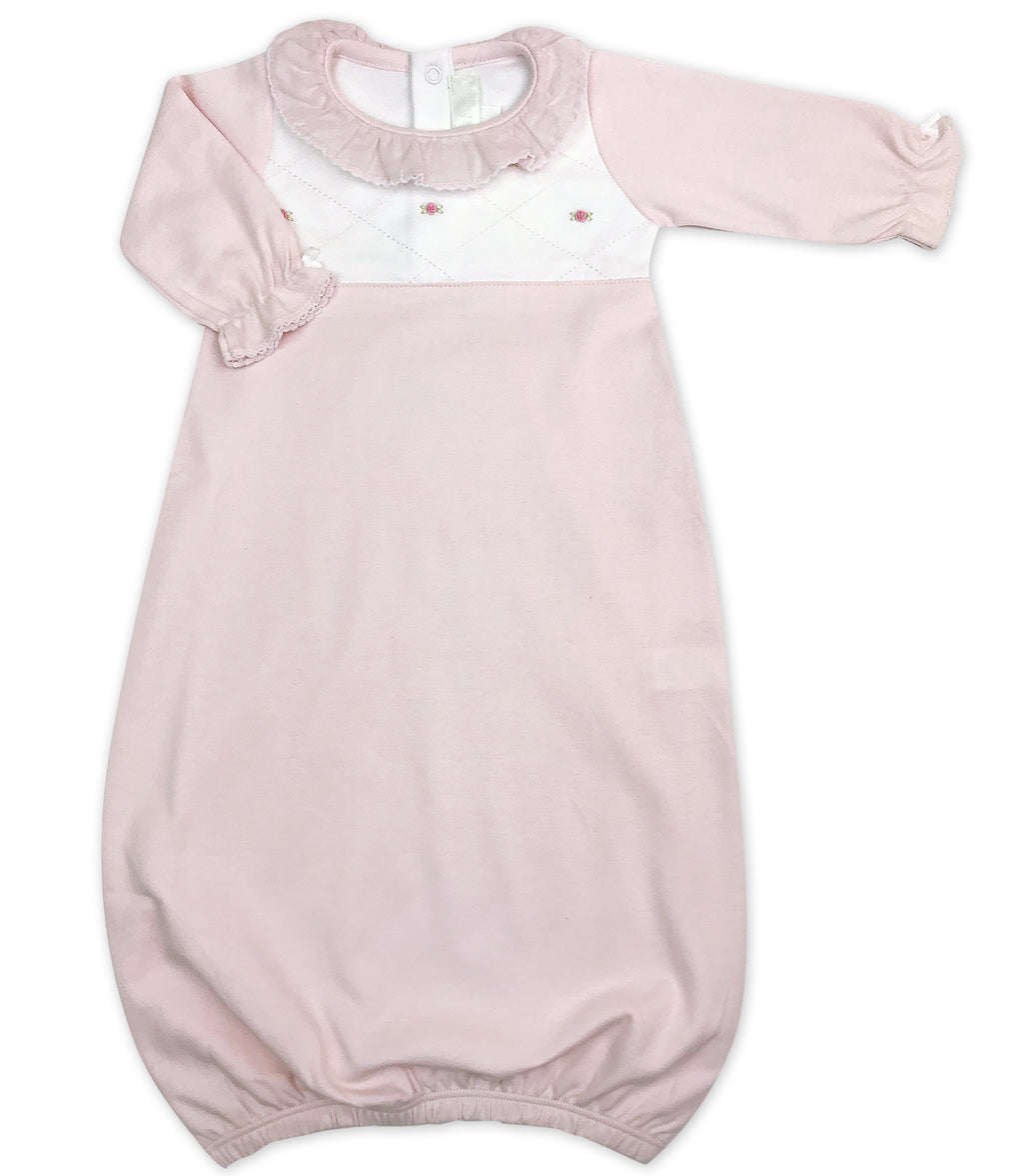 Pink Diamond Daygown - Little Threads Inc. Children's Clothing