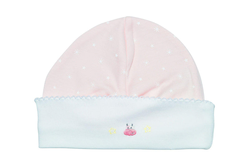 Cow on the Moon Girls Hat - Little Threads Inc. Children's Clothing