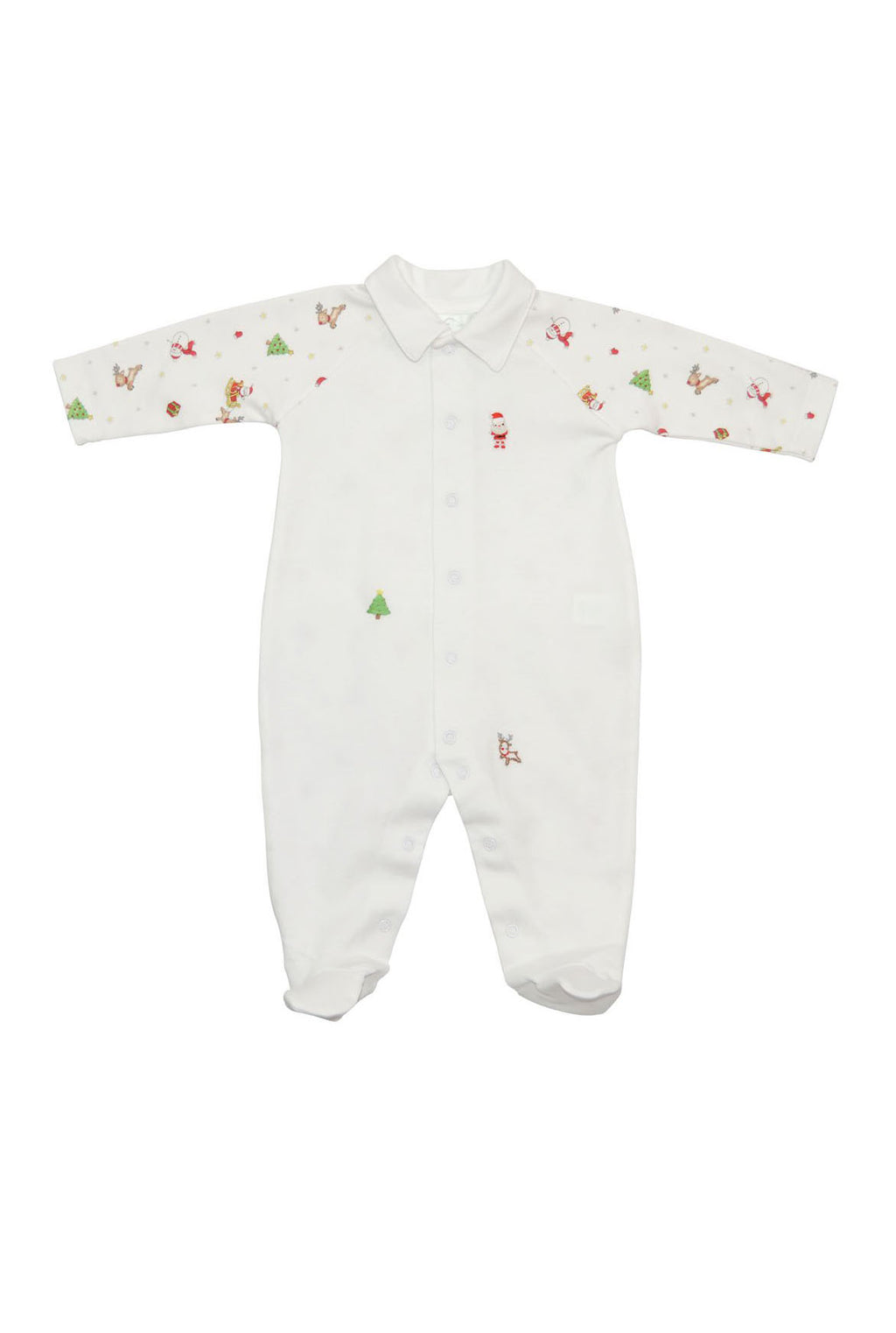 Baby Boy's Christmas Footie - Little Threads Inc. Children's Clothing
