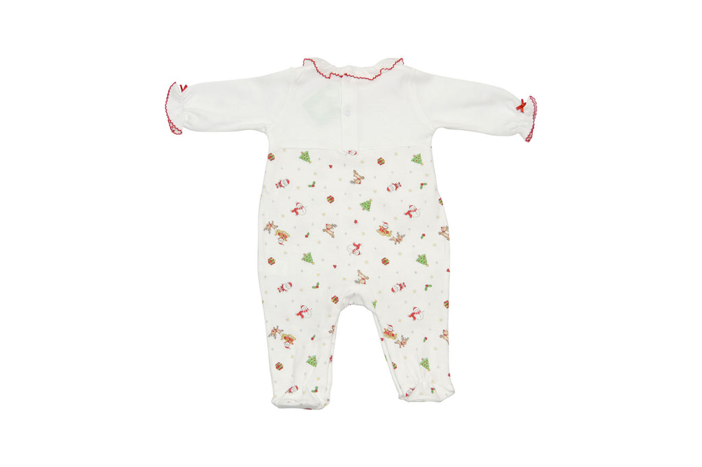 Baby Girl's Christmas Print Footie - Little Threads Inc. Children's Clothing