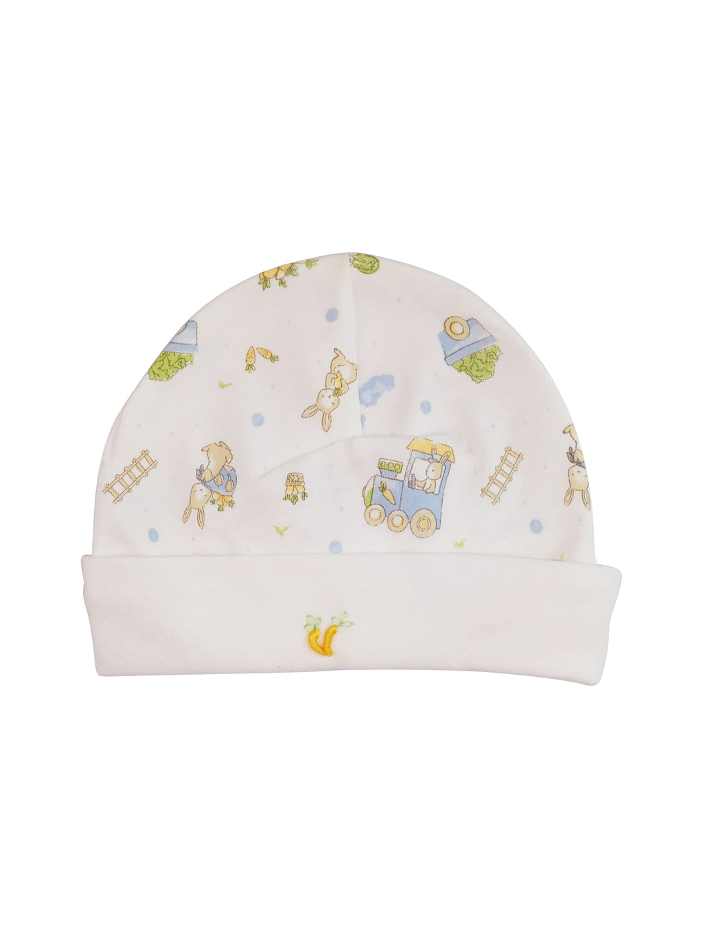 Baby Boy's Bunny Print Hat - Little Threads Inc. Children's Clothing