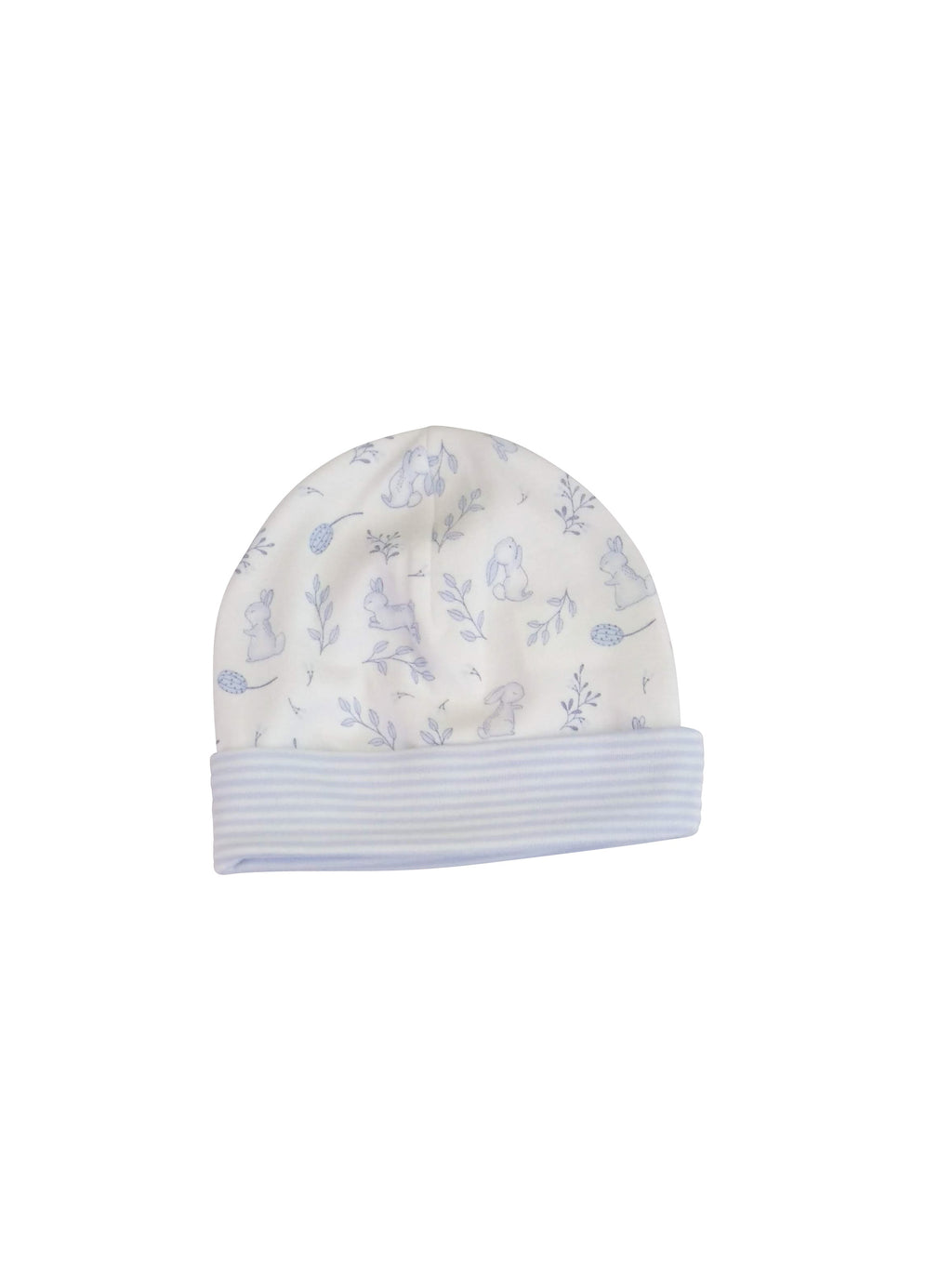 Baby Boy's Blue Bunnies hat - Little Threads Inc. Children's Clothing
