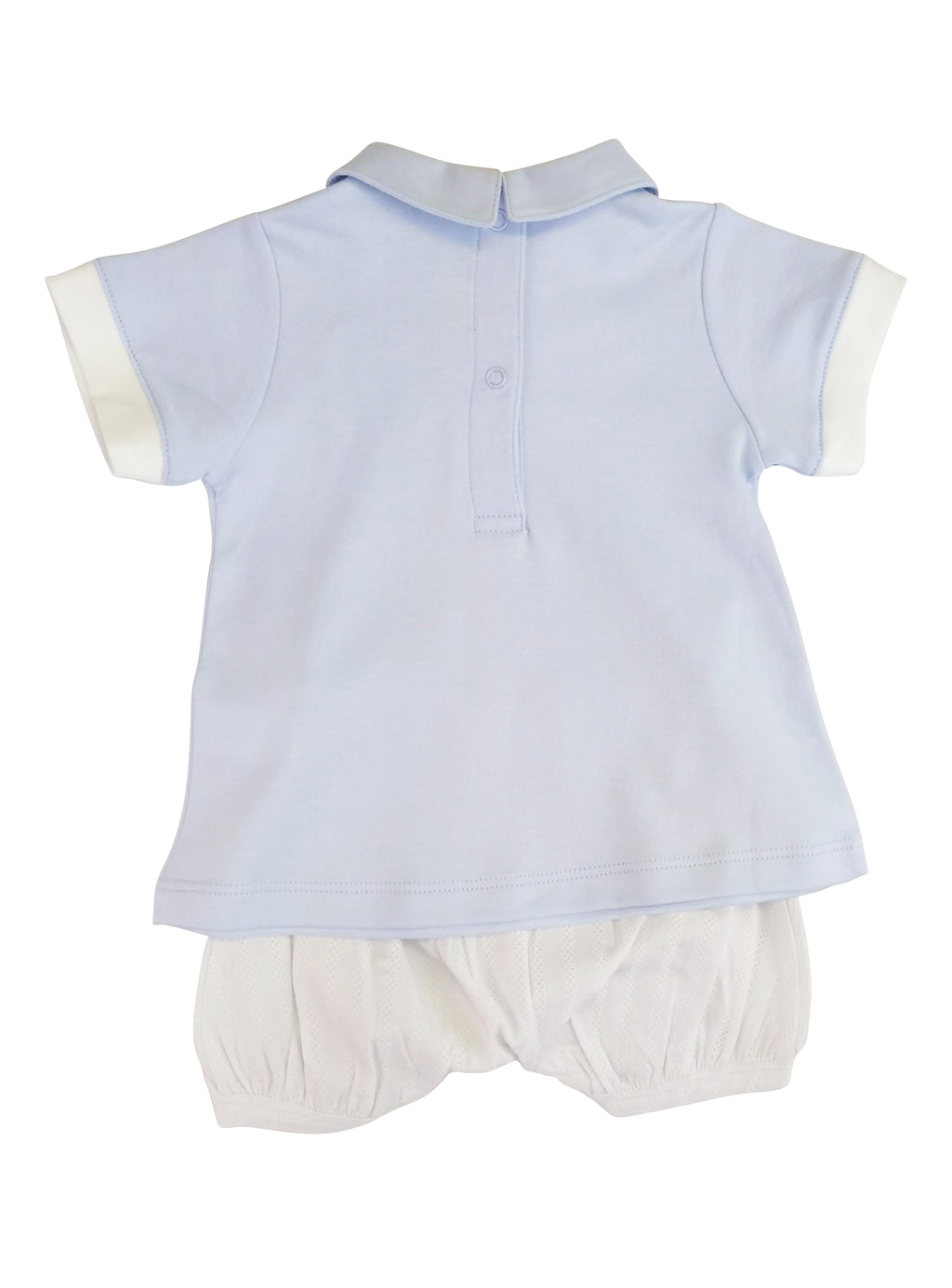 Baby Boy's Blue Dots Short Set - Little Threads Inc. Children's Clothing