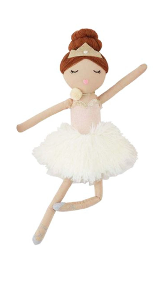 Brunette ballerina Doll - Little Threads Inc. Children's Clothing
