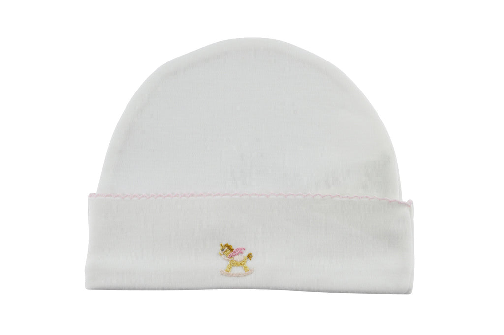 Baby Girl's Rocking Horse Hat - Little Threads Inc. Children's Clothing
