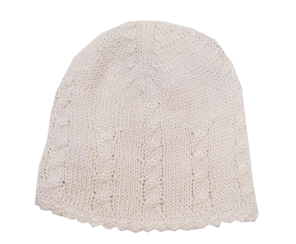 Ivory Baby Alpaca Hat - Little Threads Inc. Children's Clothing