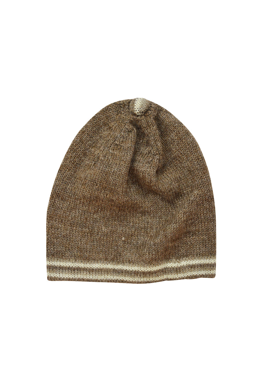 Brown Alpaca Hat - Little Threads Inc. Children's Clothing