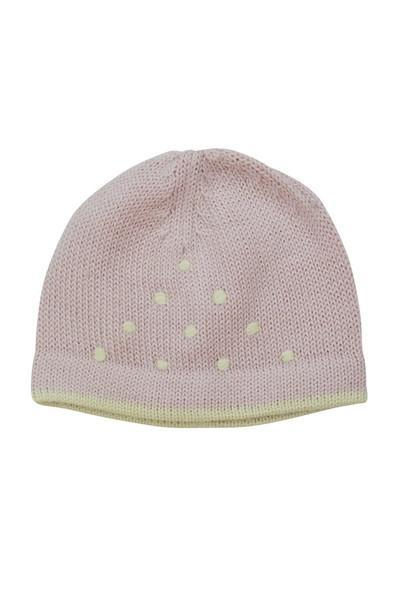 Pink & Ivory Baby Alpaca Hat - Little Threads Inc. Children's Clothing