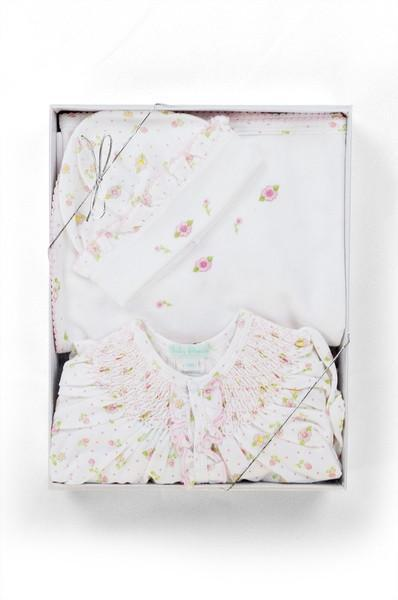 Flower Print Gift Set - Little Threads Inc. Children's Clothing