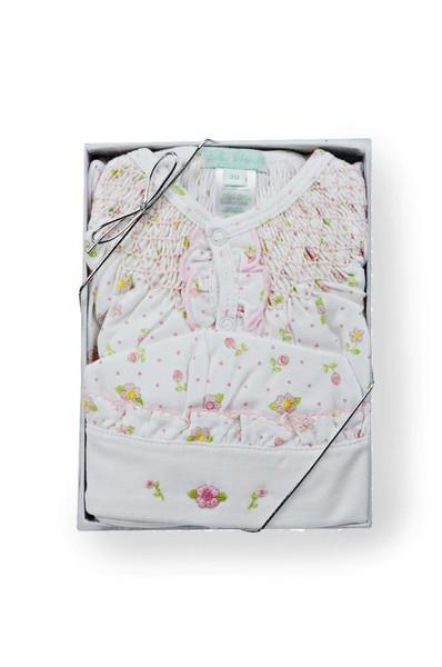 Roses Print Gift Set (2 pieces) - Little Threads Inc. Children's Clothing