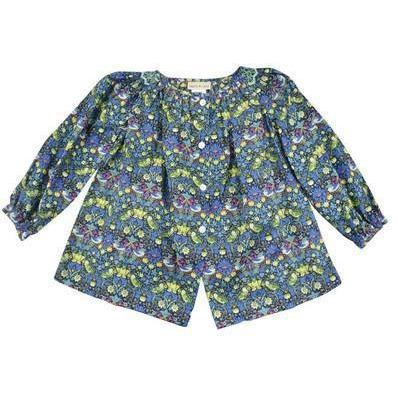 Carrie Liberty Fabric Blouse - Little Threads Inc. Children's Clothing