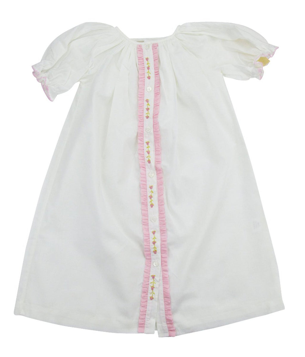 Baby Threads Batiste Baby Girls daygown - Little Threads Inc. Children's Clothing