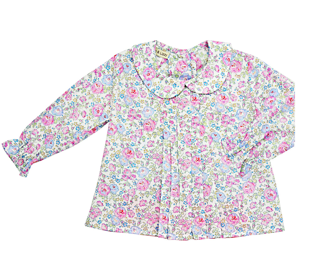 Felicite Liberty of London blouse - Little Threads Inc. Children's Clothing