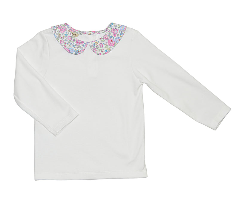 Felicite white knit top by Marco & Lizzy - Little Threads Inc. Children's Clothing